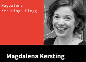 black-white picture of Magdalena Kersting