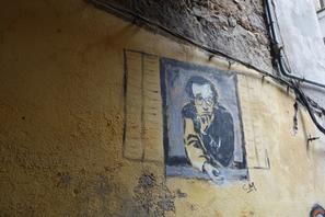 Un mur d'Ajaccio