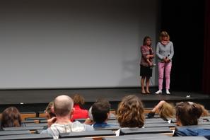 """Claire Simon pour la présentation de son film """"Le bois dont les rêves sont faits"""" en avant-première et en ouverture du festival"""