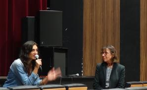 """Emilie Brisavoine présentant son film """"Pauline s'arrache"""""""