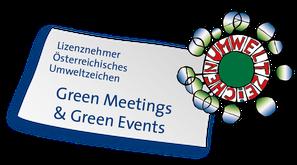 Österreichisches Umweltzeichen, UZ62, UZ200, Green Meetings, Green Events, LizenznehmerInnen, Zertifizierung