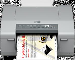 Farbetikettendrucker Epson Colorworks C831 Niesel-Etikett