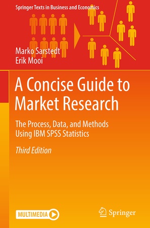 Market research book cover