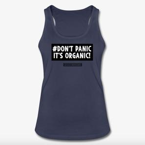 Greenbecauseican Bio Kleidung Tank Top DontPanic Organic