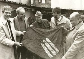 von links: Kurt Petzold, Werner Brüggemann, Ludwig Erhard, Winfried Enderle, Werner Hollwich
