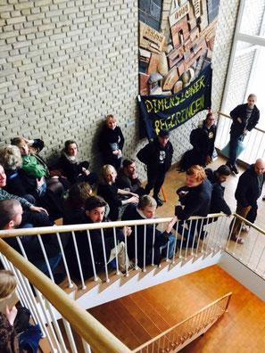 Blokadeaktion på Århus universitet