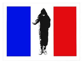 Blek le Rat Homeless in Paris