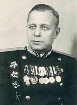 Генерал-майор медицинской службы профессор Г.А. Знаменский. Из архива Р.А. Тарарина.