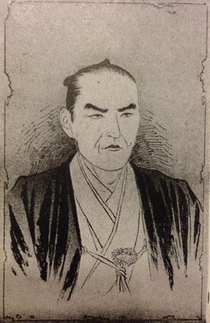 田中河内介の肖像画