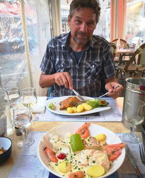 Über die Französische Küche brauchen wir kaum Worte zu verlieren. Schon gar nicht in der Normandie. Das Meer beschenkt uns jeden Tag.