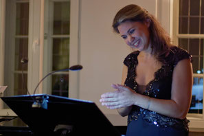 Charlotte Sander, Mezzosopran, Tango, Bossa Nova, Jazz, Wohnzimmerkonzert