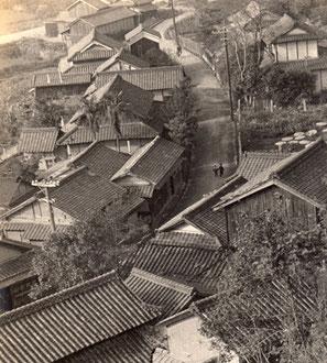 1955年頃の岡山市中区円山 嶽