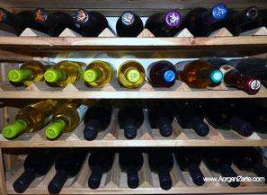 Guarda las botellas de vino en el trastero si tiene buena temperatura - www.AorganiZarte.com