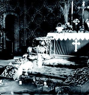 Altarraum zum Erntedankfest 1935 (Bild: BVA)