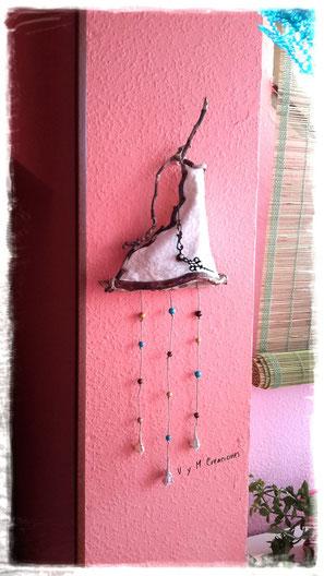 la cocinera revoltosa, madera de mar, vymcreaciones, vymcreaciones.com, driftwood clock, driftwood art, driftwood, wood, reloj madera