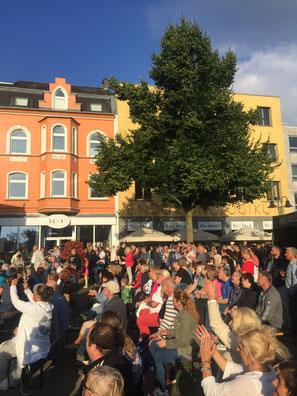 Jubiläum in der Wattenscheider Innenstadt.