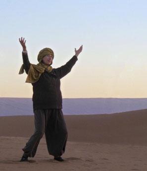 Qi gong de la marche (Xi Xi Hu) et méditation avec Nicole El Hayani - annuaire de therapeutes via energetica touraine et val de loire