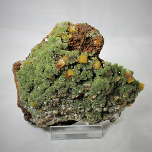 Wulfenite Mimetite Ojuela Mine Mexico