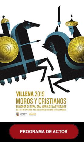 Fiestas en Villena Moros y Cristianos