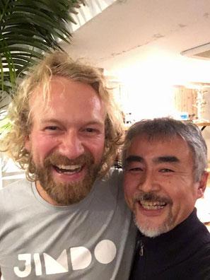 Jimdo創業者のフライデルさんと二年ぶりの再開/Jimdocafe豊橋