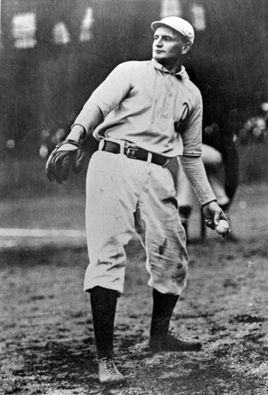Rube Waddell of the Philadelphia A's. - BL-4019-99 (National Baseball Hall of Fame Library)