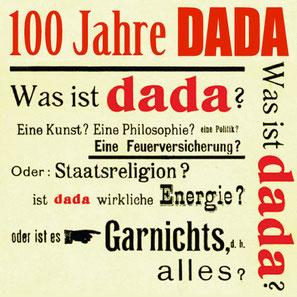 DADA - was? | Bild: fotointern.ch