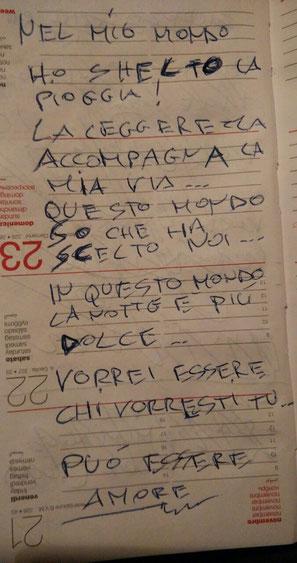 poesia in brutta copia di Michele Gallo