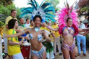 Boek een Samba showdance bij Farofa.nl