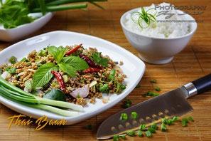 Laarb Moo; ; Thai Baan Neudorf; Yupin Seidel; thailändischer Kochservice; Foodtruck; Kochkurs, Thaifood, gesunde Ernährung, Restaurant