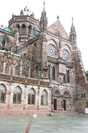 contrefort du transept sud