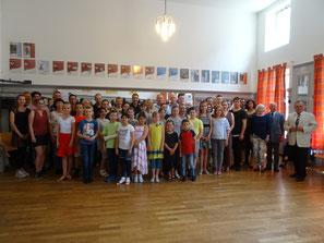 Gruppenbild der DTSA-Teilnehmer