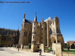 антонио гауди, епископский дворец, асторга, гауди экскурсии