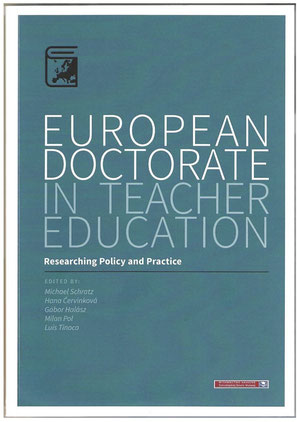 Cover European Doctorate in Teacher Education