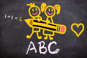 Einschulung, Elfchen Schulanfang, Elfchen Aufbau, Elfchen in Silbenschrift, Silbenlesen lernen, Silbenübung, Silbentrennung
