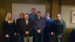 Der neue Vorstand des KZV F61 Cuxhaven