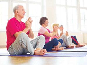 Cours de Yoga pour les séniors par Murielle LEROY