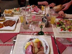 "Choucroute im Restaurant ""Pfeffel"""