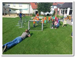 das Soccer-Ei für Stadtfeste, Gewerbetage, Kindergeburtstage, Benefizveranstaltungen, in Fußballhallen,  Ferienlager, Kinderheime,