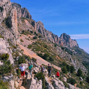 Wandeltochten door de bergen - Wandelen