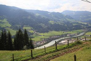 Die Salzach verbindet die inneren Alpen mit dem Voralpenraum.