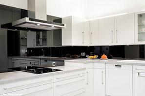 Glas in der Küche: Fliesenspiegel - Heideglas Uelzen