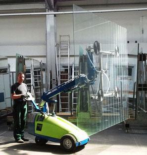 Der Winlet-Glassauger - ein zuverlässiger Helfer.