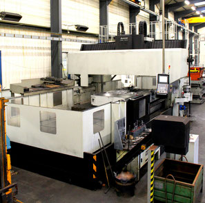 Double Column High Speed Milling Center DMC 5000 (5.000 x 3.400 x 1.200mm)