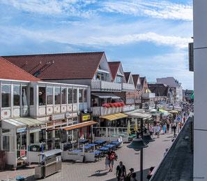 Borkum - Ferienwohnung im Haus Seeblick (App. 10II) mit Meerblick an der Strandpromenade in der Fußgängerzone