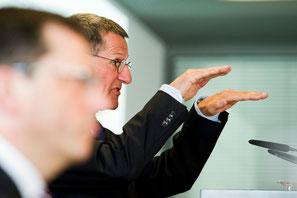 Jürg Bucher:  «Valiant ist gesund und kann eigenständig in die Zukunft gehen», sagte gestern  der neue Verwaltungsratspräsident.