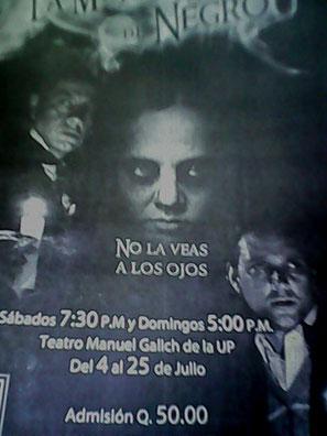 La Dama de Negro en Guatemala