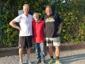 Michael Schöttler, Rolf Bohne (TL), Oliver Sulik