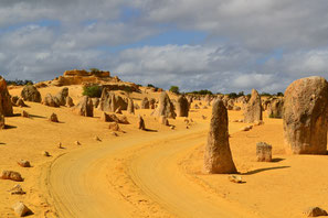 Pinnacle Desert in Western Australia