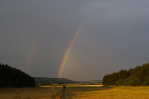 ... manchmal berührt der Himmel die Erde ... (Foto © Dr. W. Kornder)