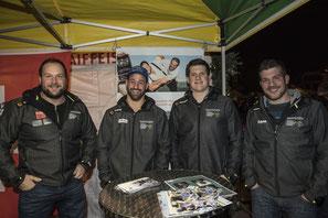 vl. Thomas Sempach, Philipp Reusser, Patrick Schenk, Adrian Schenkel